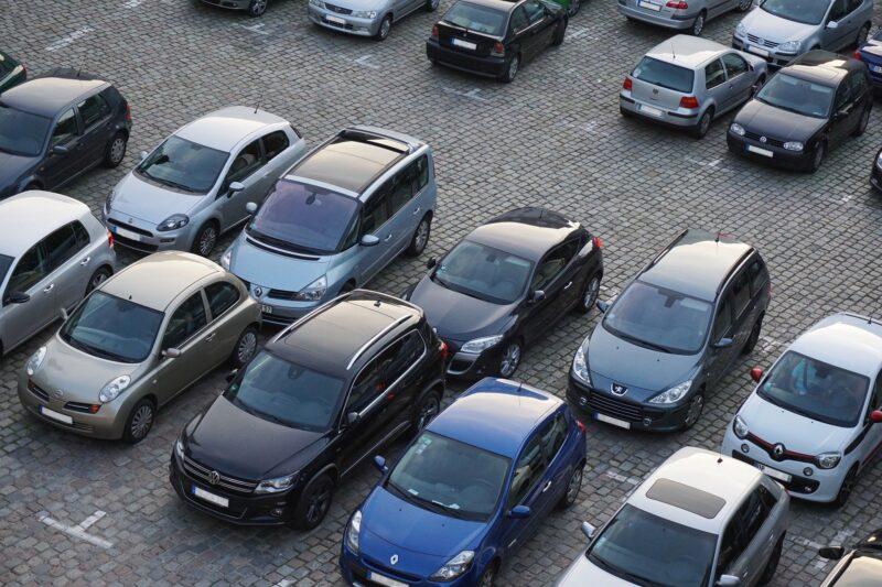 Parkplatzsperren